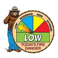 LOW Wildfire Danger Level